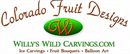 Colorado Fruit Designs / Willy's Wild Carvings and Edible Fruit Desserts